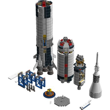 LEGO® Ideas NASA Apollo Saturn V 21309 4