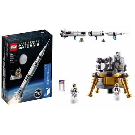 LEGO® Ideas NASA Apollo Saturn V 21309 3