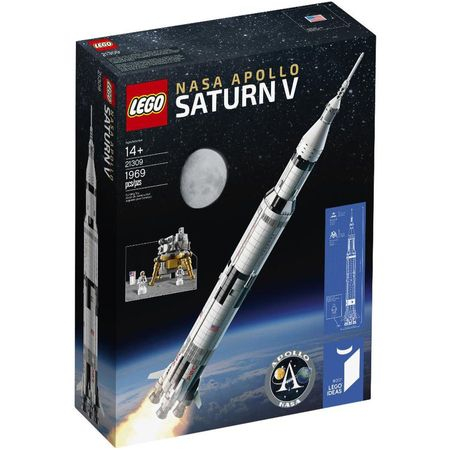 LEGO® Ideas NASA Apollo Saturn V 21309 0