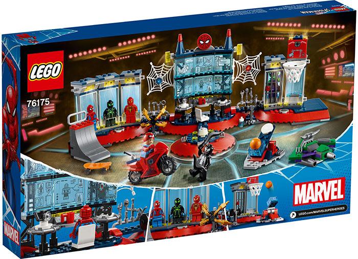LEGO® Marvel Super Heroes: Atacul asupra bazei lui Spider-Man 76175 [1]