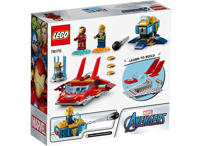 LEGO® Marvel Super Heroes: Iron Man vs. Thanos 76170 [1]