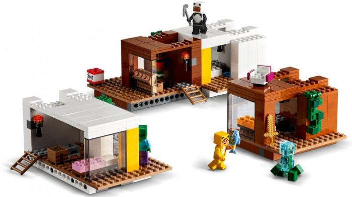LEGO Minecraft - Casuta din copac 21174, 909 piese [2]