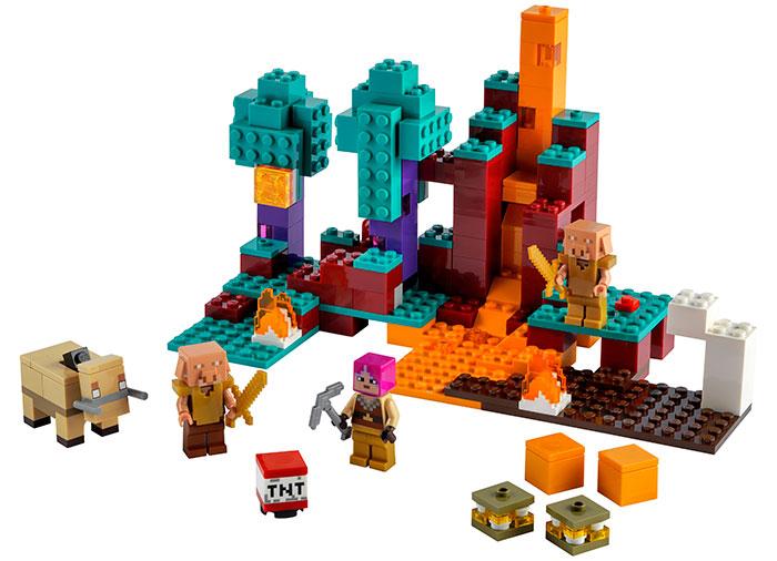 LEGO® Minecraft™: The Warped Forest 21168 2