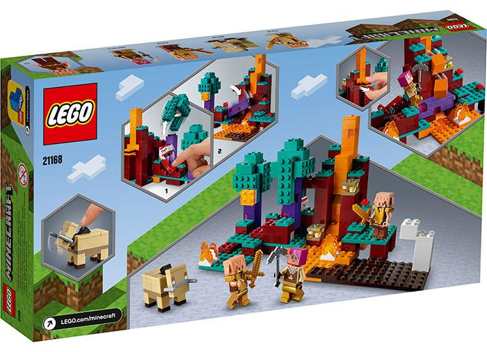 LEGO® Minecraft™: The Warped Forest 21168 3