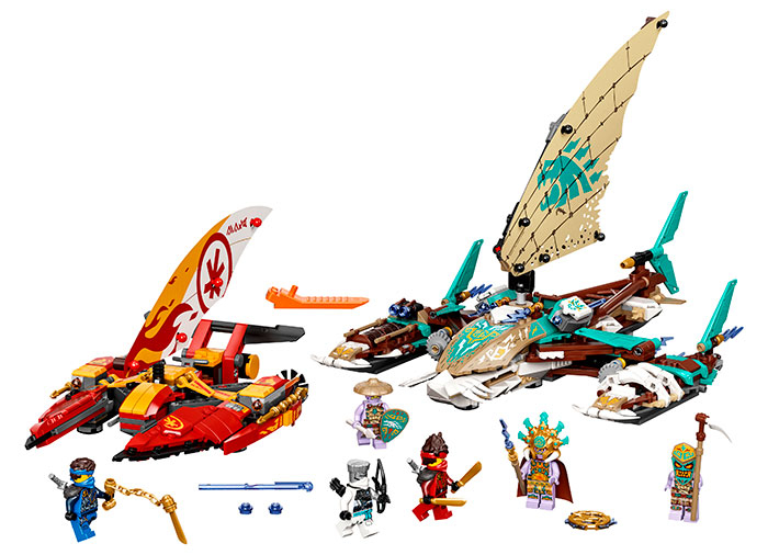 LEGO® NINJAGO® : Batalia cu catamarane 71748 [0]