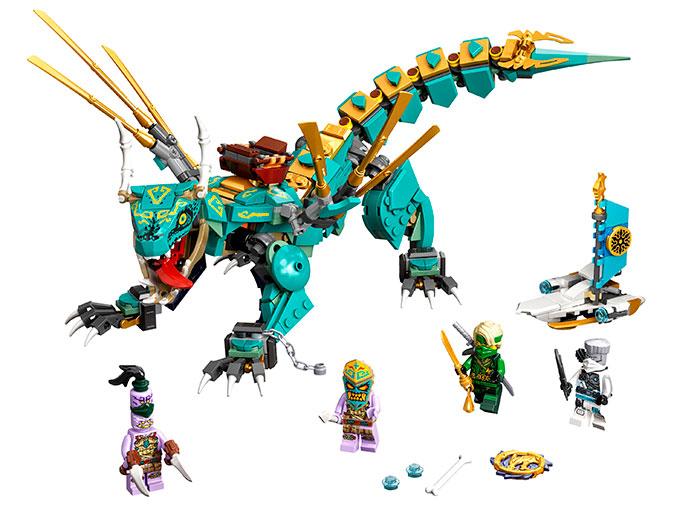 LEGO® NINJAGO® : Dragonul din jungla 71746 0