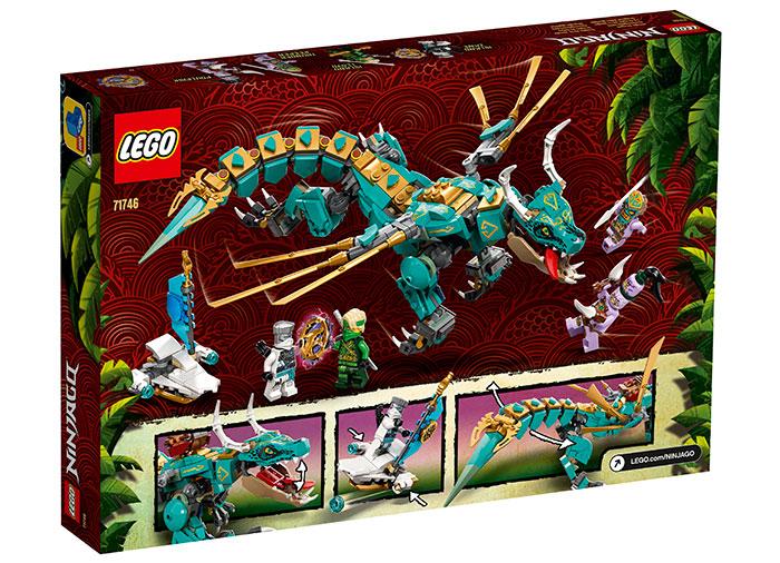 LEGO® NINJAGO® : Dragonul din jungla 71746 1