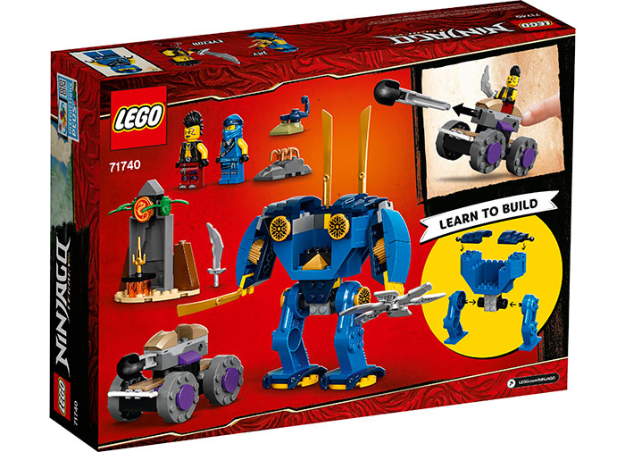 LEGO® NINJAGO® : Electrobotul lui Jay 71740 1