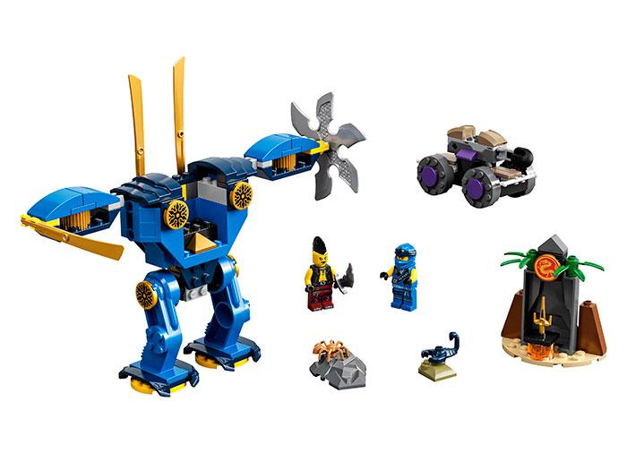 LEGO® NINJAGO® : Electrobotul lui Jay 71740 0