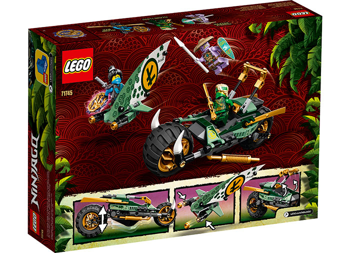 LEGO® NINJAGO® : Motocicleta de jungla al lui Lloyd 71745 1