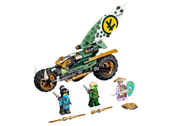 LEGO® NINJAGO® : Motocicleta de jungla al lui Lloyd 71745 0