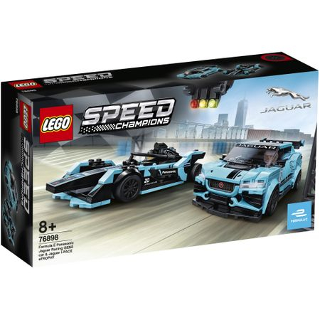 76898 LEGO® Speed Champions: Formula E Panasonic Jaguar Racing GEN2 & Jaguar I-PACE eTROPHY  0
