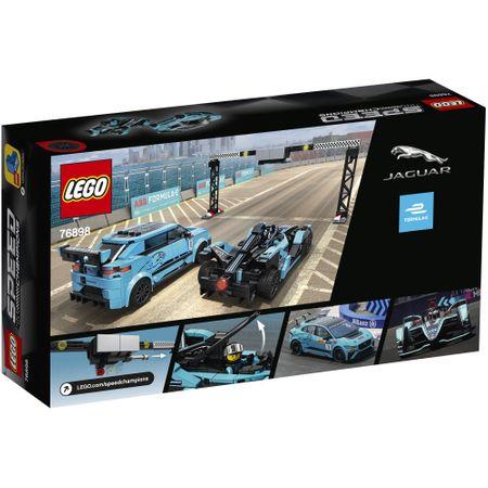76898 LEGO® Speed Champions: Formula E Panasonic Jaguar Racing GEN2 & Jaguar I-PACE eTROPHY  3