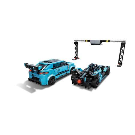 76898 LEGO® Speed Champions: Formula E Panasonic Jaguar Racing GEN2 & Jaguar I-PACE eTROPHY  2