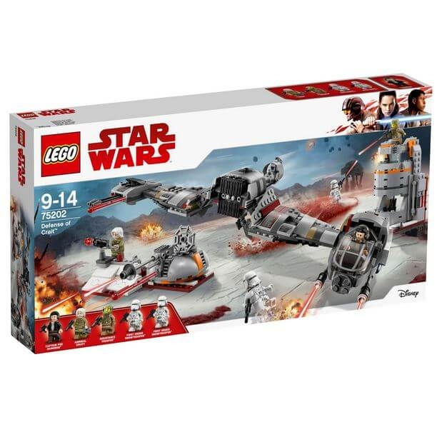 LEGO® Star Wars™ Apararea planetei Crait™ 75202 0