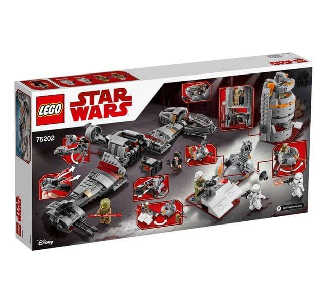 LEGO® Star Wars™ Apararea planetei Crait™ 75202 4