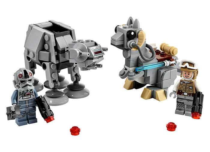 LEGO® Star Wars™: AT-AT™ vs. Tauntaun™ Microfighters 75298 0
