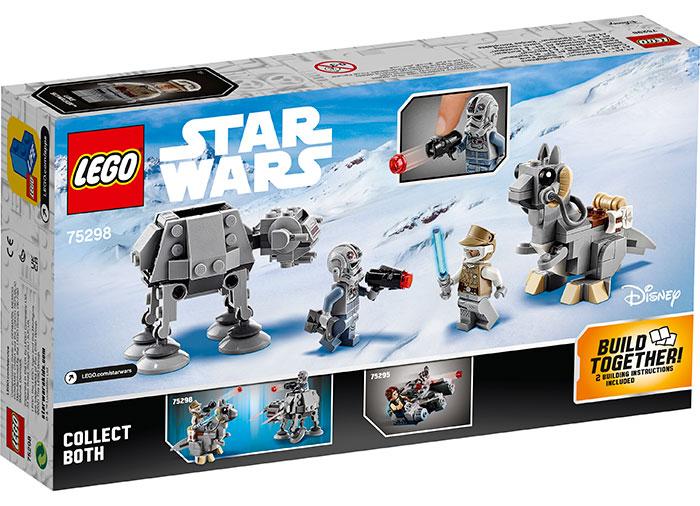 LEGO® Star Wars™: AT-AT™ vs. Tauntaun™ Microfighters 75298 1