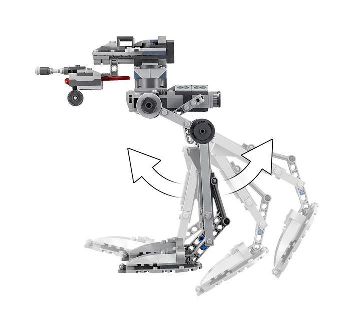 LEGO® Star Wars™ AT-ST™ Ordinul Intai 75201 3