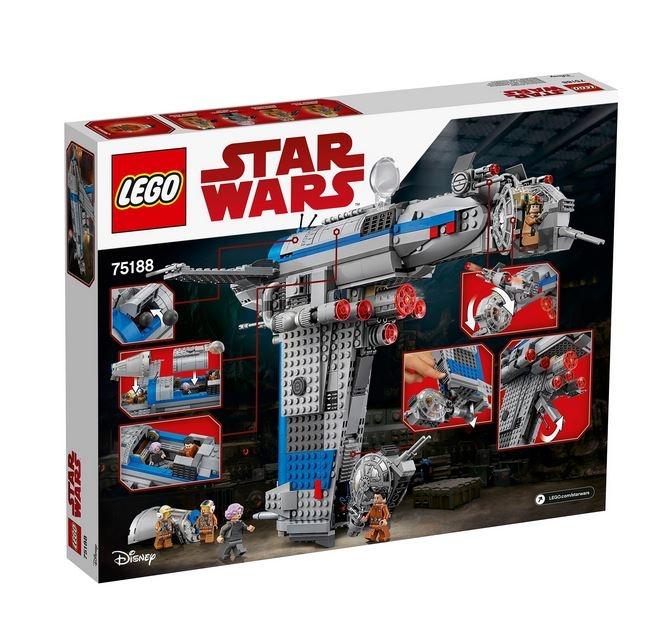 LEGO® Star Wars™ Bombardier al Rezistentei 75188 2