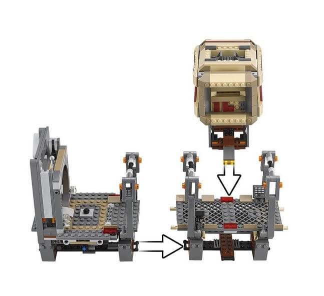 LEGO® Star Wars™ Evadarea Rathtar™ 75180 4
