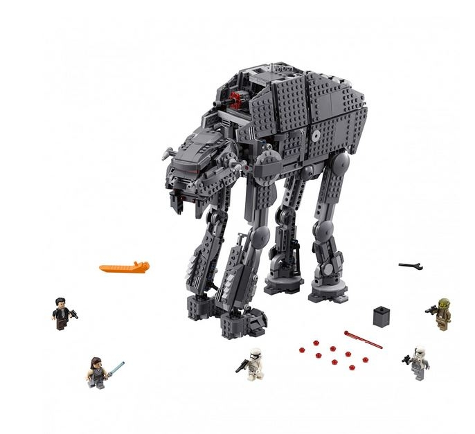 LEGO® Star Wars™ Heavy Assault Walker™ al Ordinului Intai 75189 1