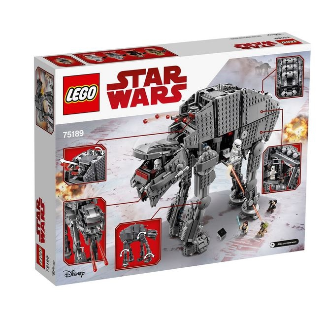 LEGO® Star Wars™ Heavy Assault Walker™ al Ordinului Intai 75189 2