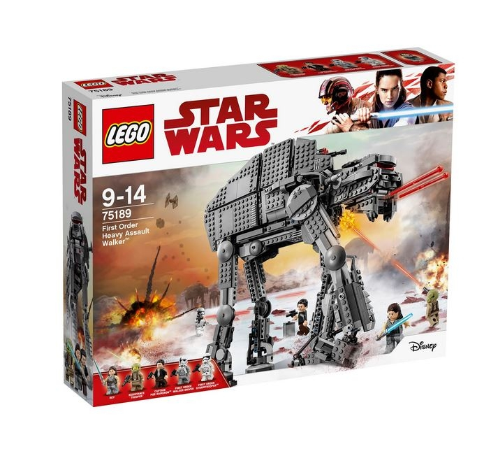 LEGO® Star Wars™ Heavy Assault Walker™ al Ordinului Intai 75189 0