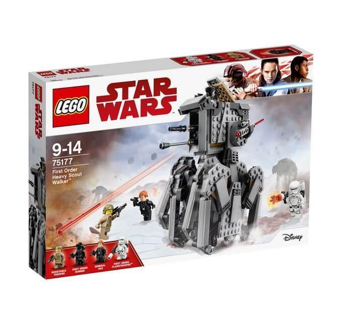 LEGO® Star Wars™ Heavy Scout Walker™ al Ordinului Intai 75177 0