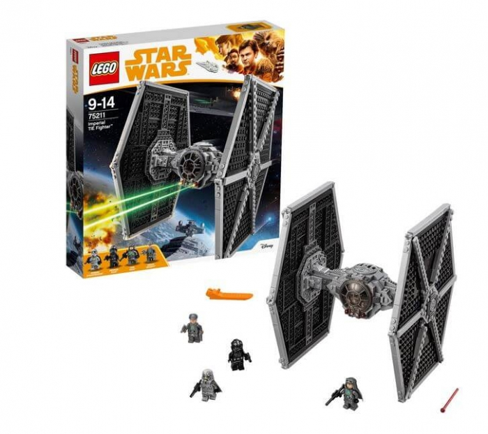LEGO® Star Wars™ Imperial TIE Fighter™ 75211 3