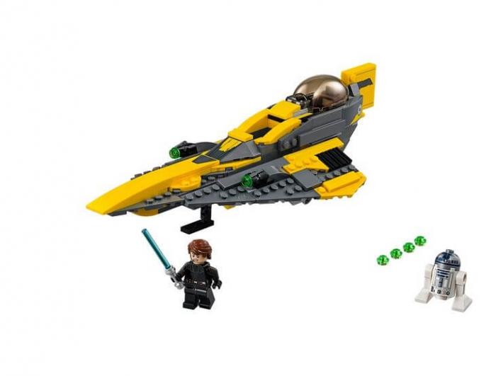LEGO® Star Wars Jedi Starfighter al lui Anakin 75214 3