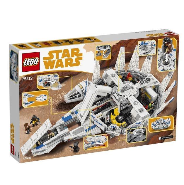 LEGO® Star Wars™ Millennium Falcon™ 75212 4
