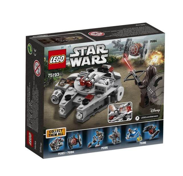 LEGO® Star Wars™ Millennium Falcon™ Microfighter 75193 2