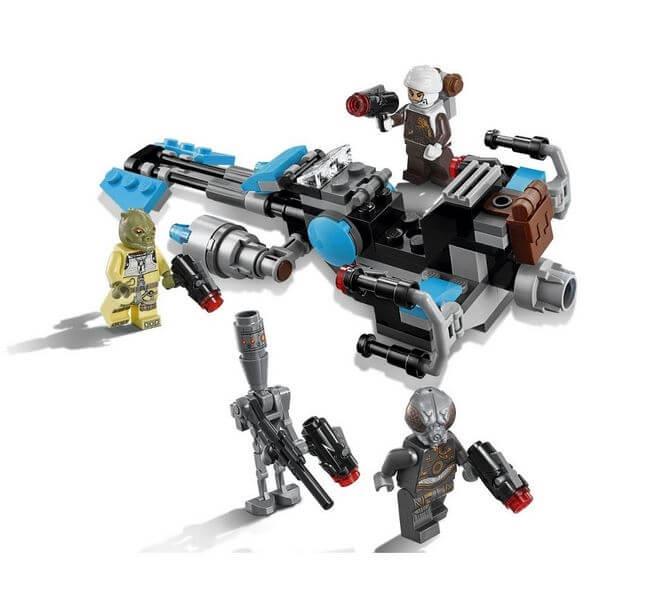 LEGO® Star Wars™ Motocicleta de viteza Bounty Hunter™ 75167 9