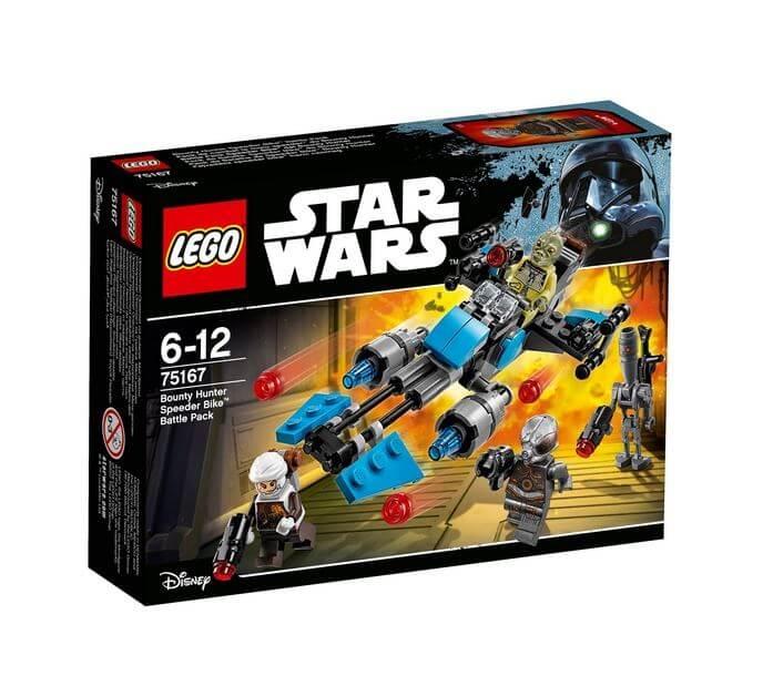 LEGO® Star Wars™ Motocicleta de viteza Bounty Hunter™ 75167 0