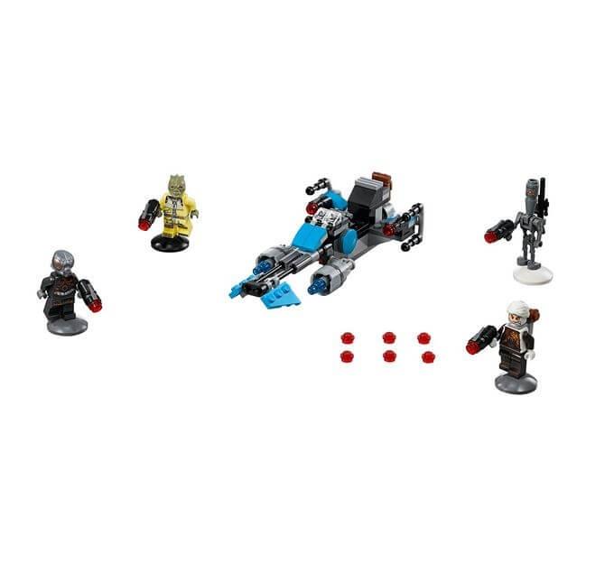LEGO® Star Wars™ Motocicleta de viteza Bounty Hunter™ 75167 2
