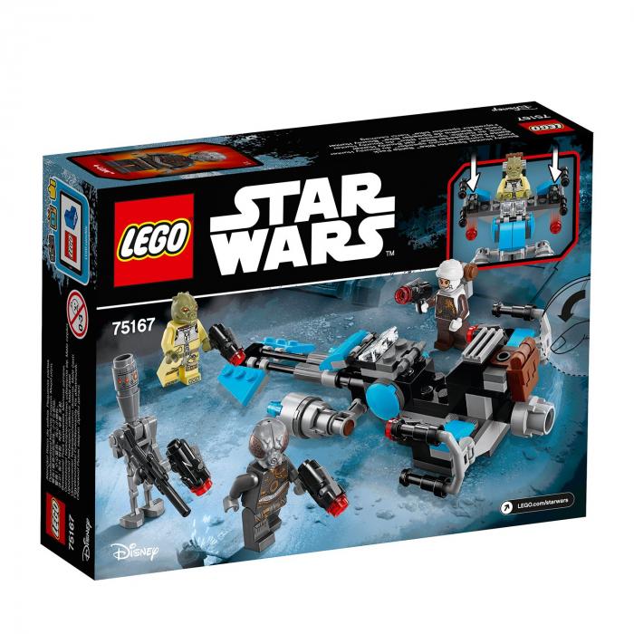 Lego Star Wars Motocicleta de viteza Bounty Hunter 75167 [0]