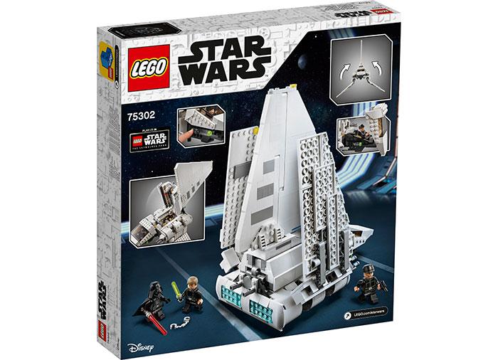 LEGO® Star Wars™: Naveta Imperiala 75302 1