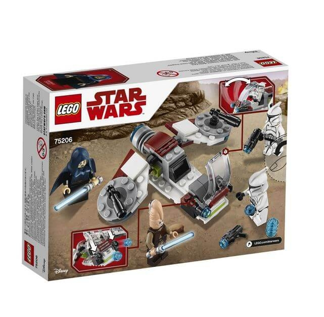 LEGO® Star Wars™ Pachet de lupta Jedi™ si Clone Troopers™ 75206 4
