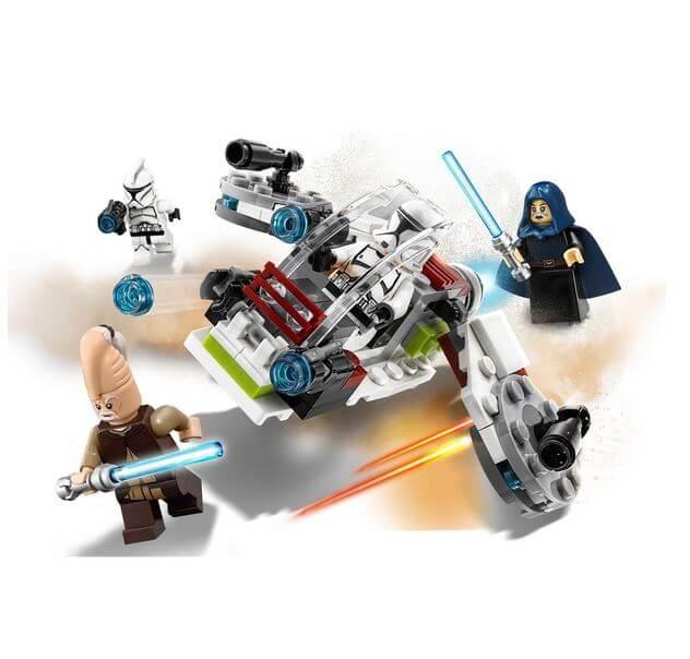 LEGO® Star Wars™ Pachet de lupta Jedi™ si Clone Troopers™ 75206 2