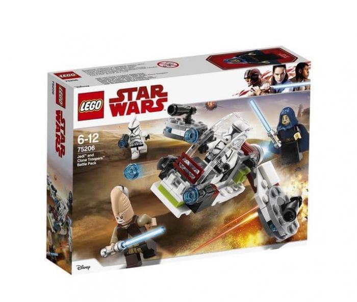LEGO® Star Wars™ Pachet de lupta Jedi™ si Clone Troopers™ 75206 5