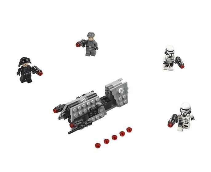 LEGO® Star Wars™ Pachet de lupta Patrula imperiala 75207 1