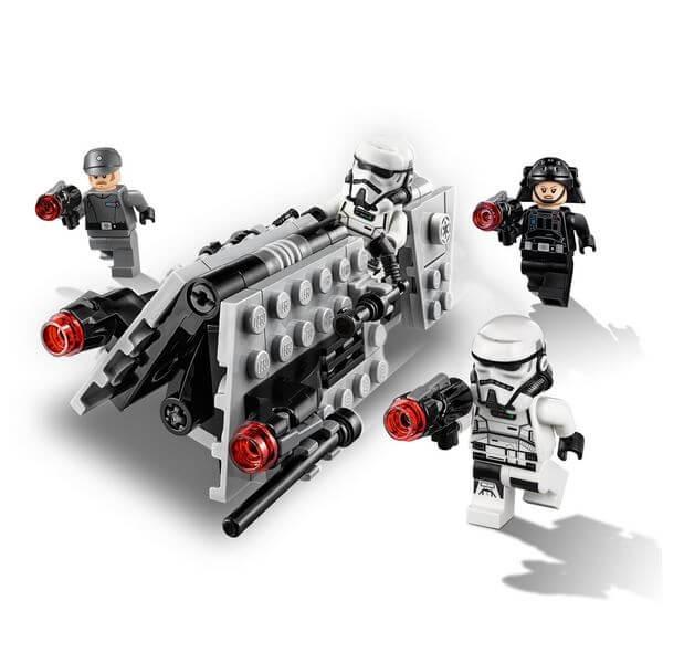 LEGO® Star Wars™ Pachet de lupta Patrula imperiala 75207 5