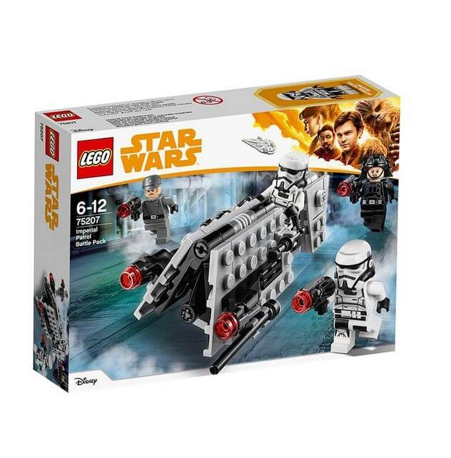 LEGO® Star Wars™ Pachet de lupta Patrula imperiala 75207 0