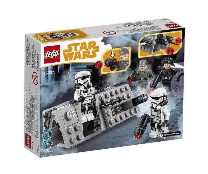 LEGO® Star Wars™ Pachet de lupta Patrula imperiala 75207 2