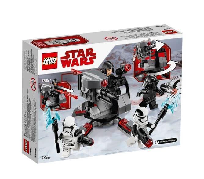 LEGO® Star Wars™ Pachetul de lupta al Specialistilor Ordinului Intai 75197 1