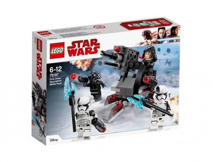 LEGO® Star Wars™ Pachetul de lupta al Specialistilor Ordinului Intai 75197 0