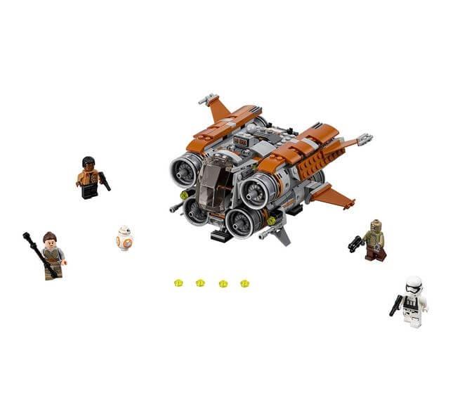 LEGO® Star Wars™ Quadjumper Jakku™ 75178 4
