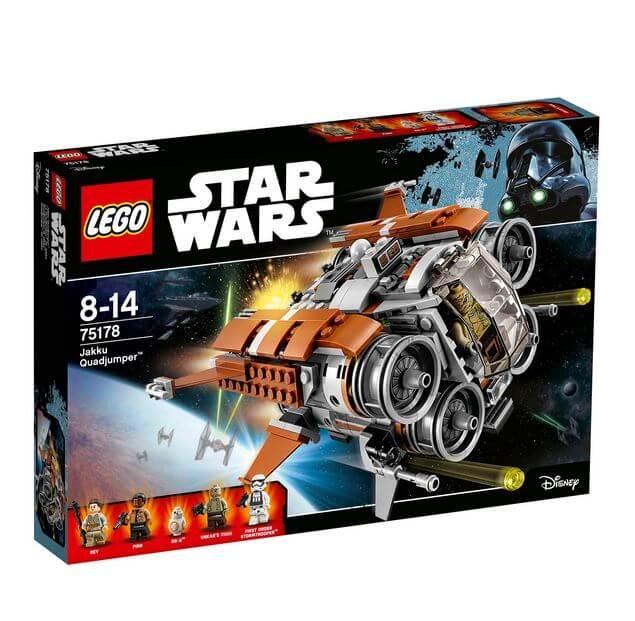 LEGO® Star Wars™ Quadjumper Jakku™ 75178 0