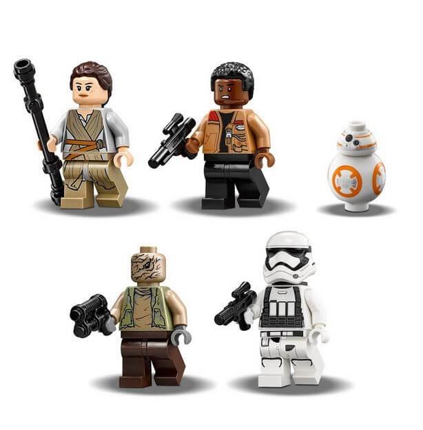 LEGO® Star Wars™ Quadjumper Jakku™ 75178 2